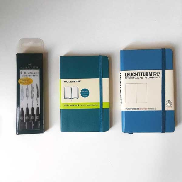 Moleskine vs Leuchtturm1917 notebooks