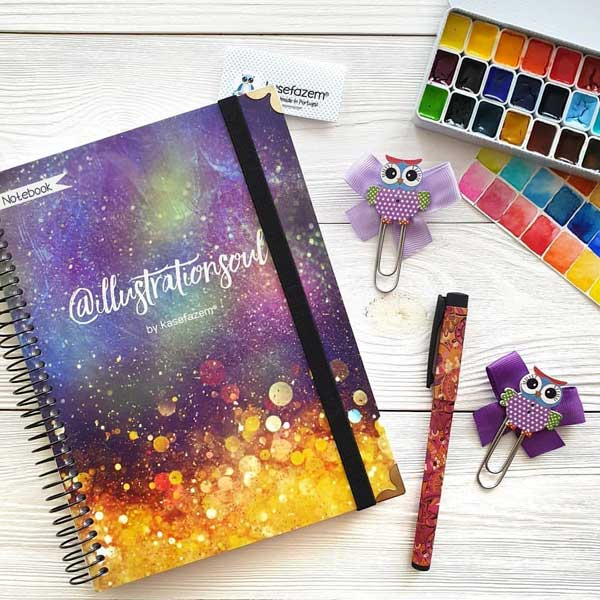 High quality personalized planner notebook