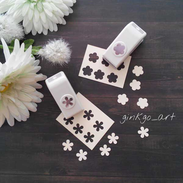 Mini paper craft punchers