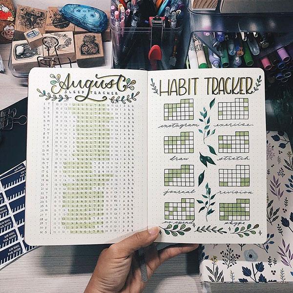 August Habit Tracker